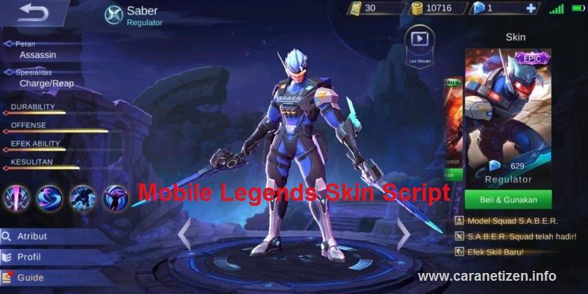 download script ml free skin