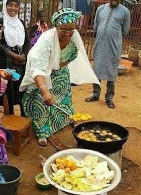 Nigerians reacts over President Buhari's comment about his wife belonging in the kitchen and bedroom,