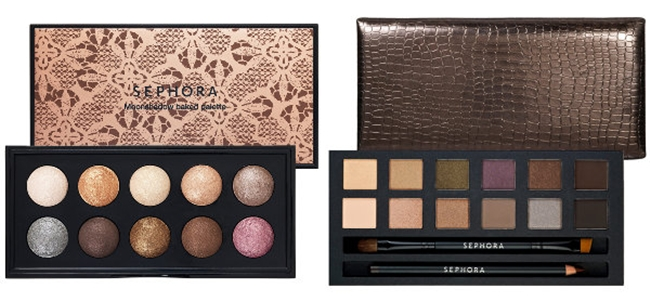 Sephora Collection: Moonshadow Baked Palette In The Nude, IT Palette in Nude