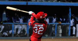 Víctor Víctor Mesa fue una de las bujías del triunfo matancero de este sábado