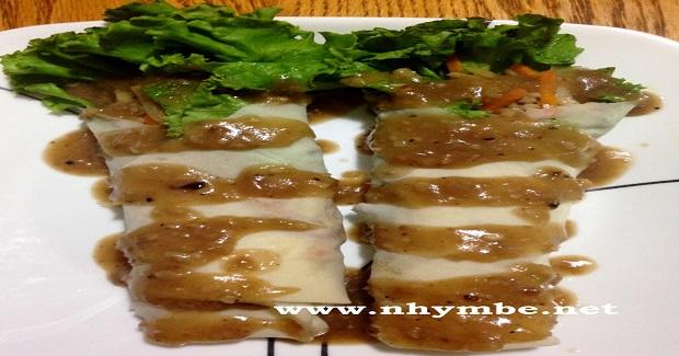 Fresh Lumpia (Lumpiang Sariwa) Recipe