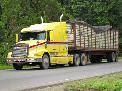 Camion americano Freightliner en Costa Rica