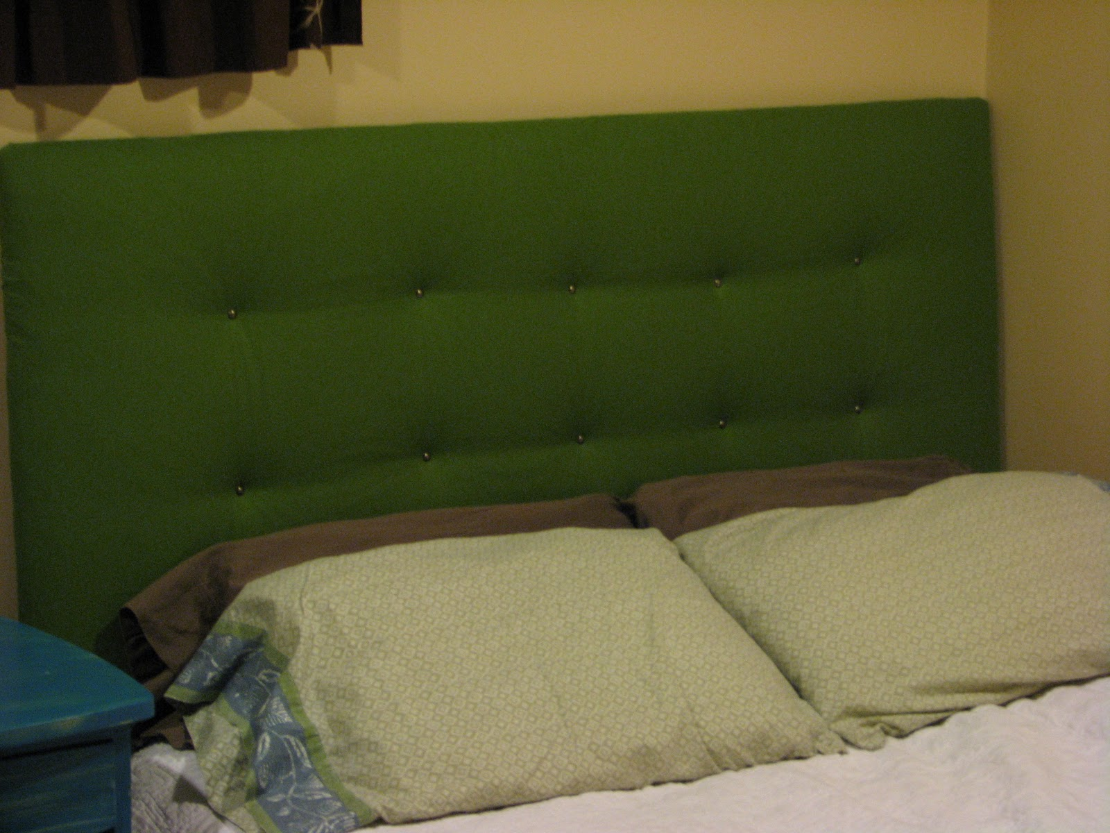 Staring At The Sand Diy Upholstered Headboard