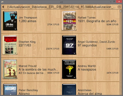 Lector de eBooks portable para Windows