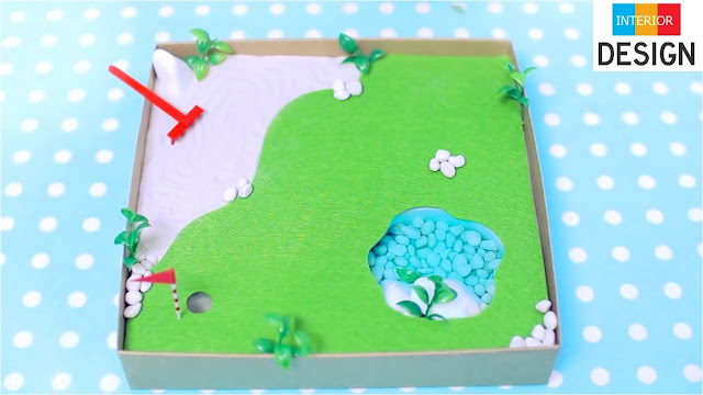 DIY Miniature Golf Zen Garden 6