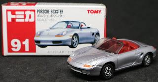 Tomica - 91 Porsche Boxster, 紙盒裝