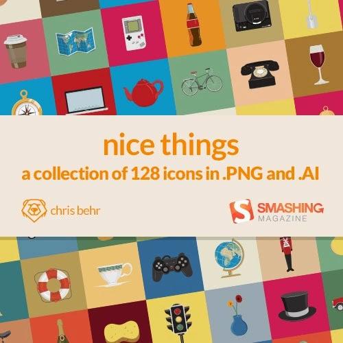 Freebie: Nice Things Icon Set