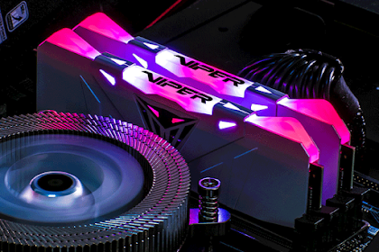 Patriot Akhirnya Merilis RGB Memory Dengan Seri Viper