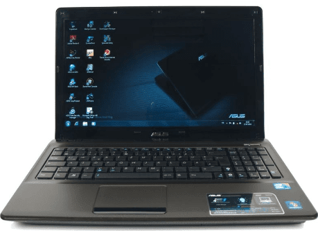 Asus notebook w/ nvidia optimus k52 series k52jc-xn1 intel core i5.