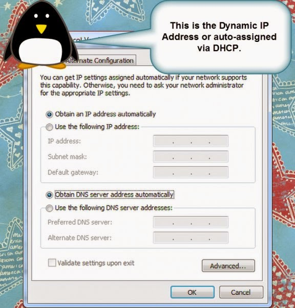 Computer Networks Dynamic IP