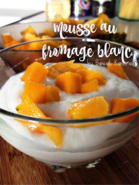 mousse au fromage blanc