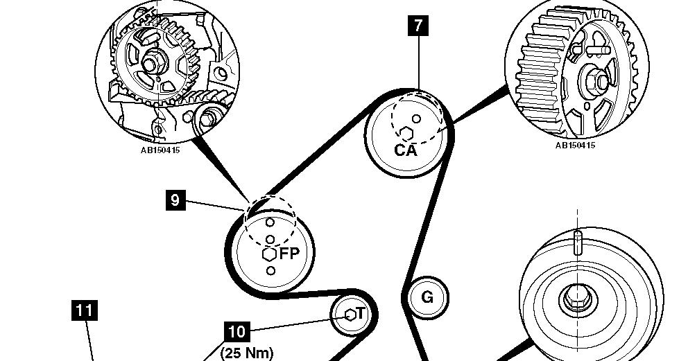 diagrama de motor de un peugeot 206 1.4