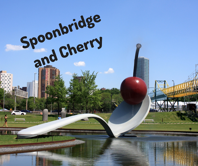 Spoonbridge and Cherry by Claes Oldenburg and Coosje Van Brugge