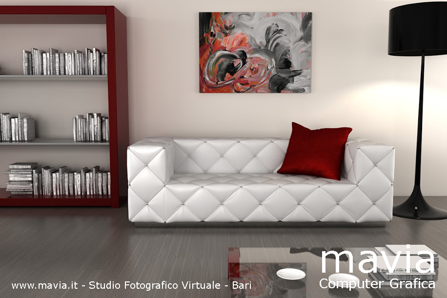 Arredamento di interni ambientazioni di interni 3d for Immagini saloni