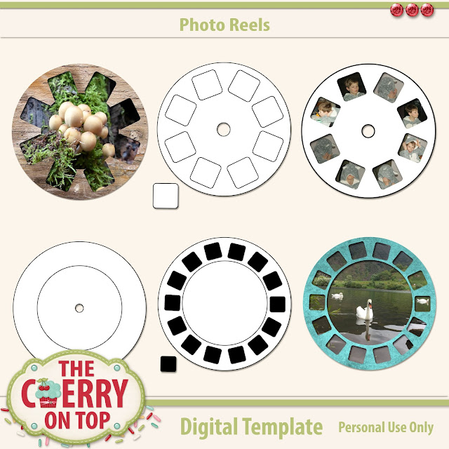 Photo Reel Templates from The Cherry On Top