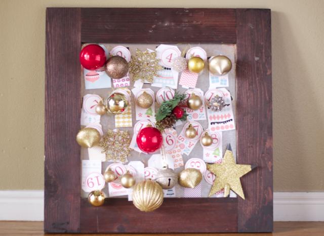 do it yourself divas diy advent calendar christmas countdown. Black Bedroom Furniture Sets. Home Design Ideas
