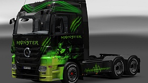 Mercedes Actros monster skin by Ghass72