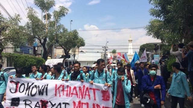 Gerakan Mahasiswa Mau Dibungkam Rezim Lewat Dana Rp1,5 M