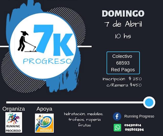 7k de Progreso (Canelones, 07/abr/2019)