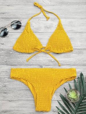 loja china chinesa zaful resenha roupa economiza barato biquini amarelo yellow summer thaina gava saia rasgada mulher feminino praia banho swimwerar
