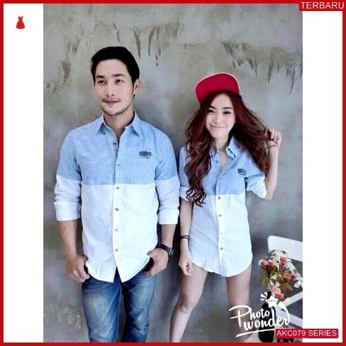 AKC079K61 Kemeja Couple Couple Anak 079K61 Kemeja Hem BMGShop
