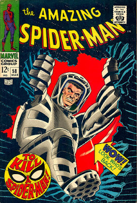 Amazing Spider-Man #58, the Spider-Slayer