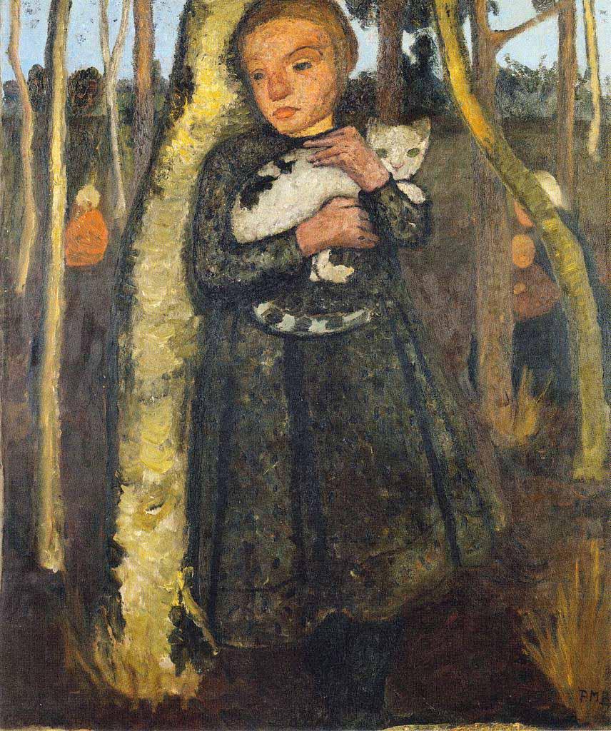 Mary Cassatt Sara Holding A Cat