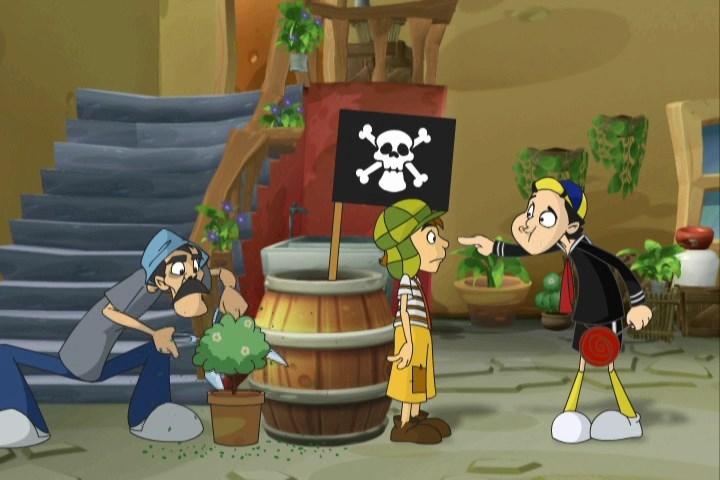 Chaves Em Desenho Animado 1 2 3 E 4 Temporada Dublado Hdtv