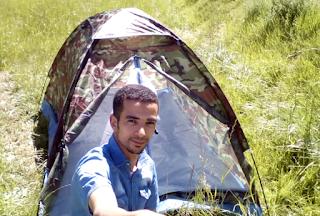 خيمة للتخييم مضادة للمياه من موقع بانكود Camping Tent Sunshade Double-layer Waterproof