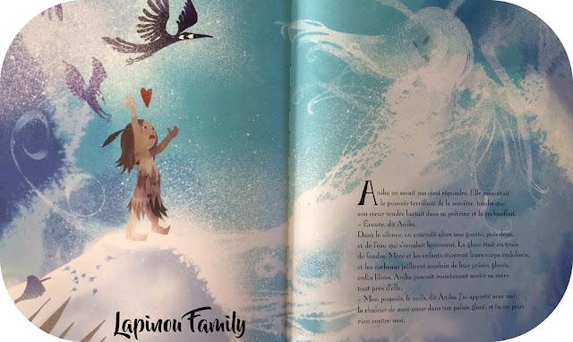 anika et la sorciere des neiges