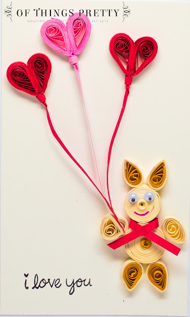 paper quilling love cards