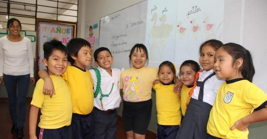 MINEDU: Colegios deben destinar dos vacantes por aula para estudiantes con discapacidad, recordó el Ministerio de Educación - www.minedu.gob.pe