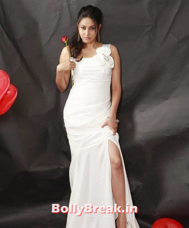 , Panchi Bora Hot Photo Gallery - White Dress