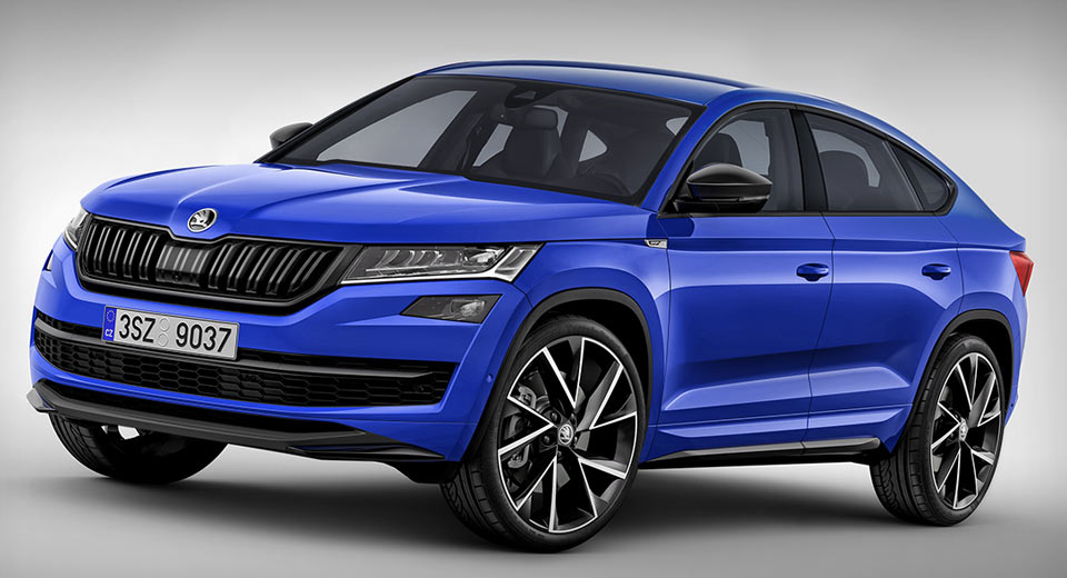 Skoda Superb Sportline 2018 >> Skoda's New Kodiaq Coupe Will Probably Look Something Like This