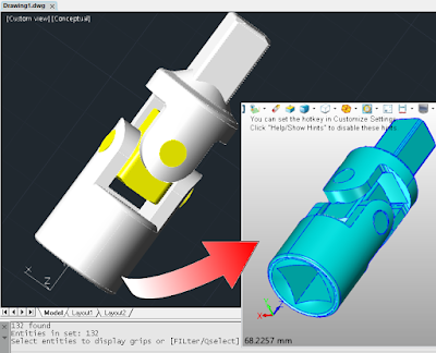 CAD File Translation Improvements in progeCAD 2019 Preview