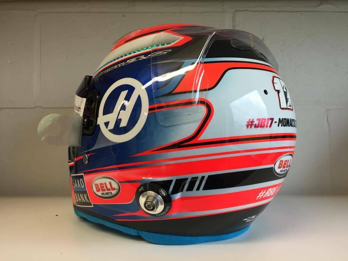 Helm 37 bell hp7 r grosjean monaco 2016 by adrien paviot for Helm design
