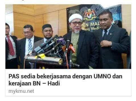 「Gambar Umno & Pas sekelambu」的圖片搜尋結果