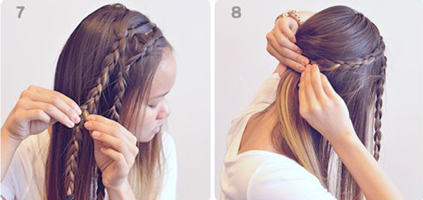 Astonishing 7 Quick Easy Steps To Make Under Braid Hairstyle Inspiration Daily Dogsangcom