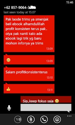 Testimoni dari Pengguna Ebook Trik Rahasia Trading di Binary 99% PASTI PROFIT!