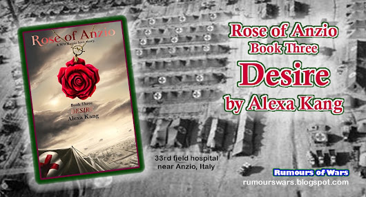 Book Review: Rose of Anzio #3 DESIRE by Alexa Kank