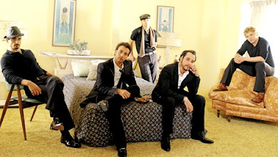 Foto del grupo Backstreet Boys en sesión de foto