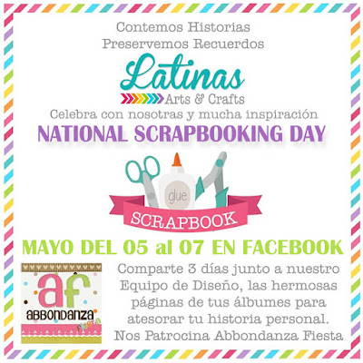 National Scrapbooking Day 2017