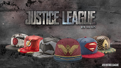 Justice League Movie Character Armor 59Fifty Fitted Hat Collection by New Era x DC Comics
