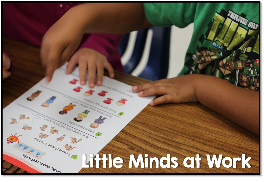 Tara West, author of the blog Little Minds at Work, explains how she gets her kindergarteners to