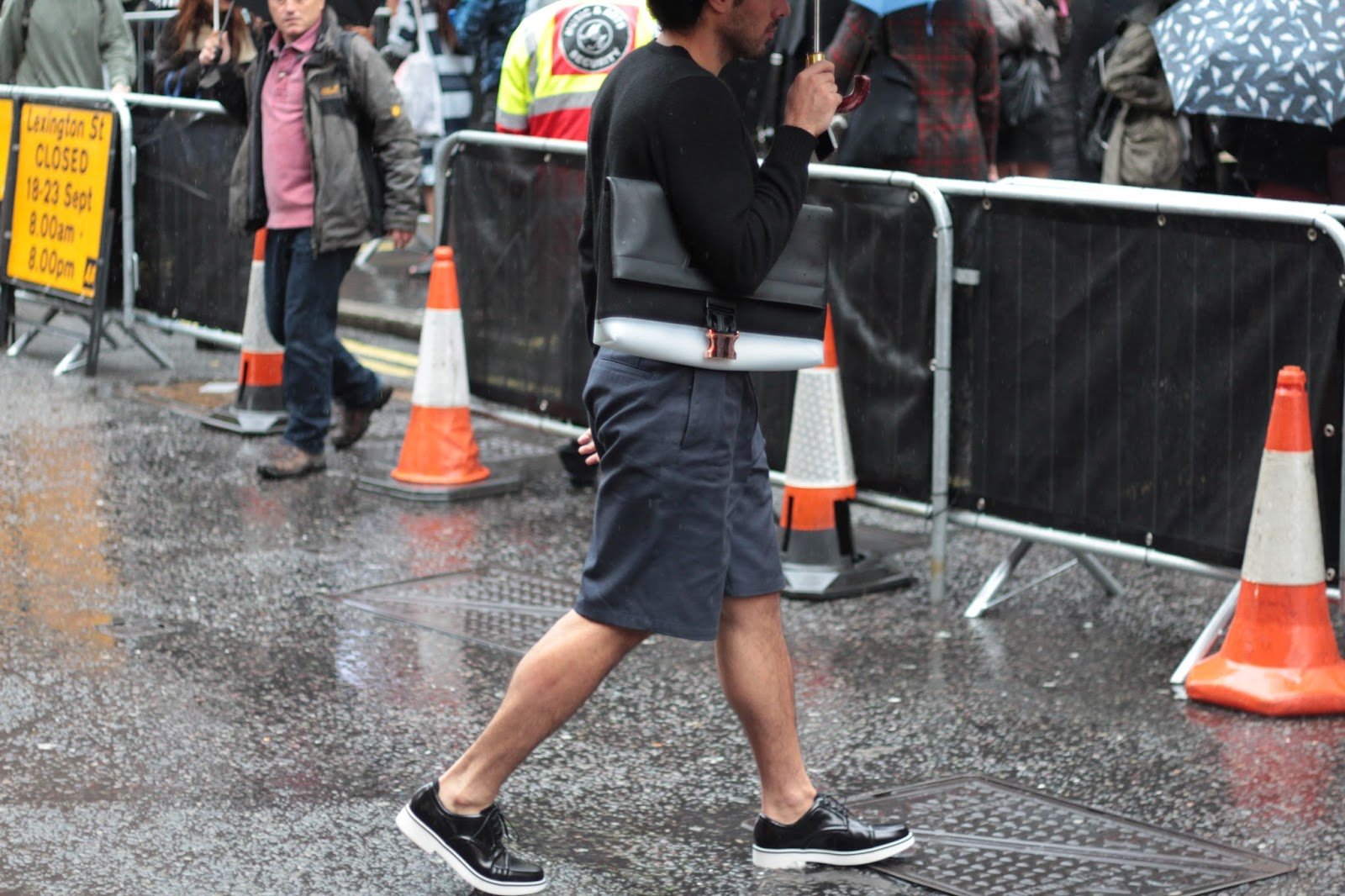 London fashion week ss16 street style photos