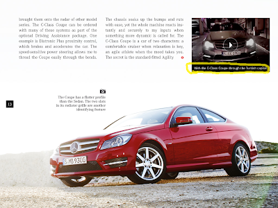 Mercedes iPad Magazine: C Coupe in Istanbul