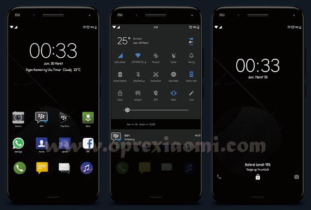 Kumpulan Tema Xiaomi Mtz Full Dark Paling Keren Tembus Spesial Update Juli 2018