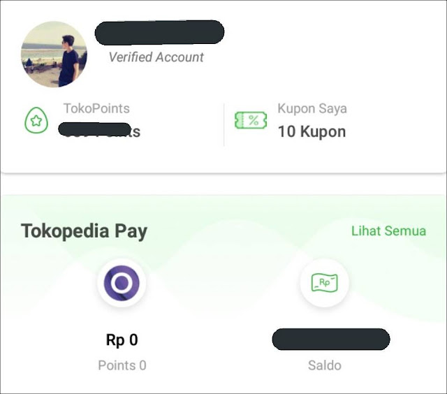 Security Code OVO Tokopedia Lupa
