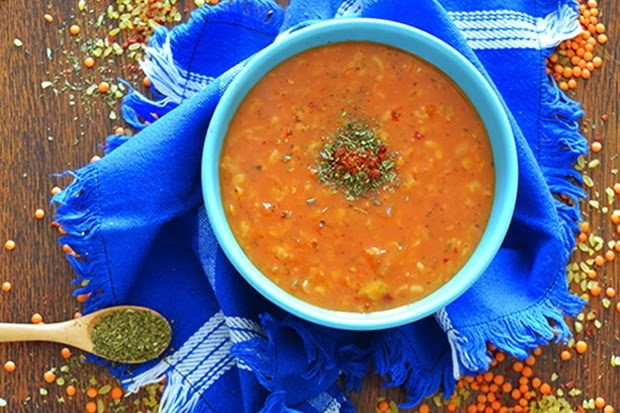 Recipe:  Ezogelin Çorbası or Turkish Red Lentil Soup - shewandersshefinds.com