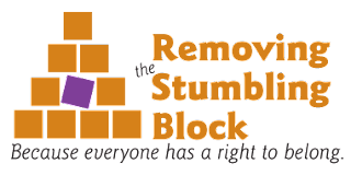 Logo Removing the Stumbling Block; Lisa Friedman
